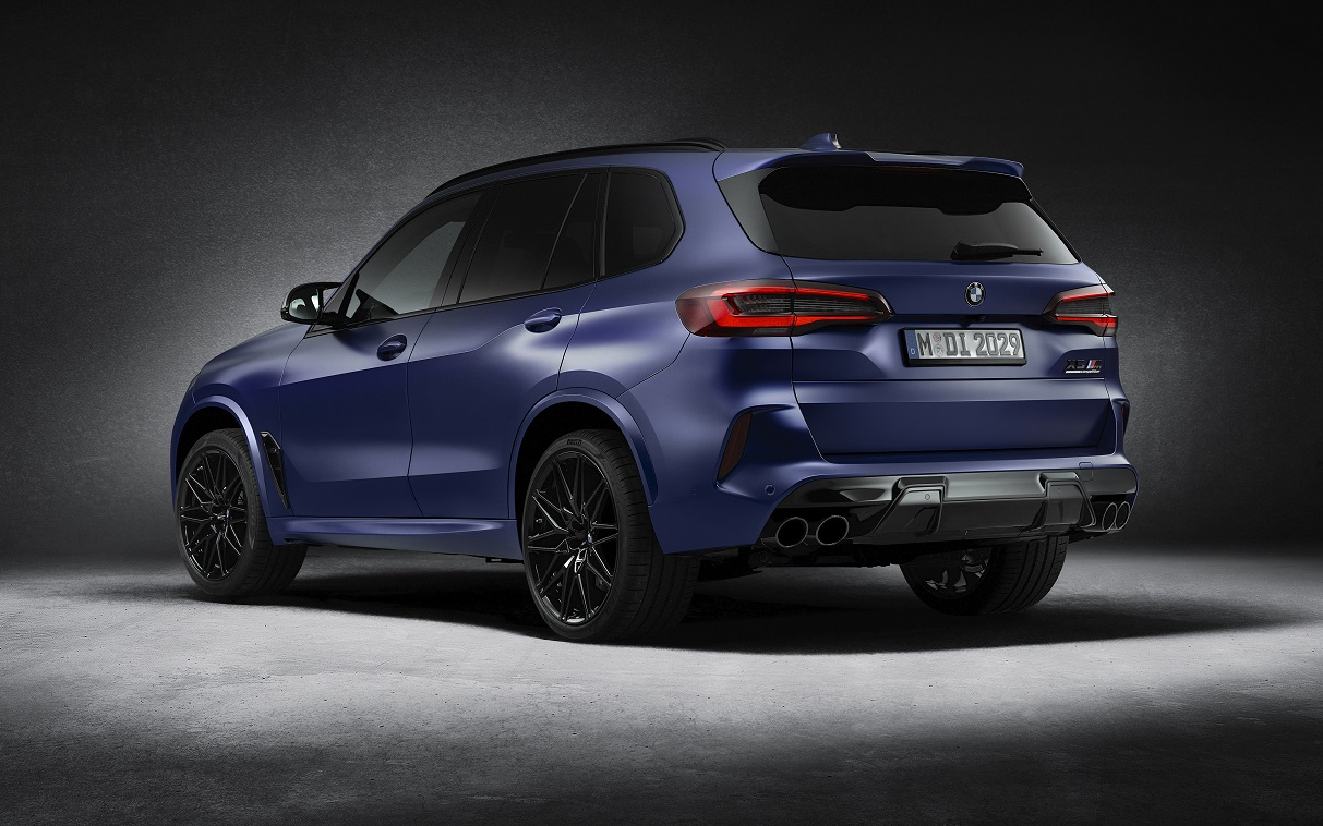 Особые BMW X5 M и BMW X6 M First Edition добрались до России